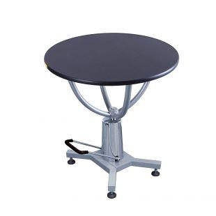 SHERNBAO Apvalus hidraulinis stalas, juodas