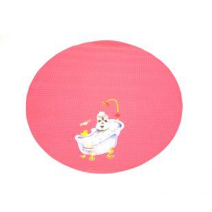SHERNBAO Kilimėlis skirtas stalui, rožinis