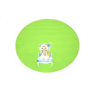 SHERNBAO Kilimėlis skirtas stalui, žalias