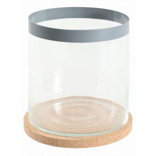 ZOLUX Akvariumas Life Aqua cilindro formos, pilkas, 12 l