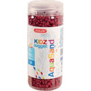 ZOLUX Akvariumų žvyras Aquasand, raudonas raudonas, 500 ml