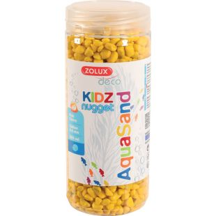 ZOLUX Akvariumų žvyras Aquasand, geltonas geltonas, 500 ml