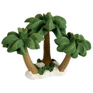 ZOLUX Akvariumų dekoracija Coconut Trees Island Nano 9 cm