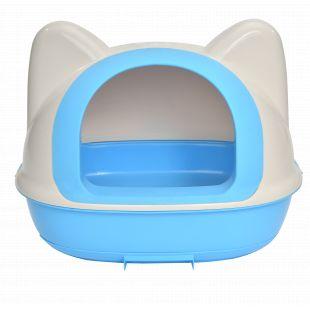 AOTONG Kačių tualetas 58.5x42.5x48.5 cm, mėlynas
