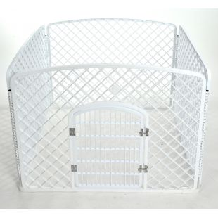 AOTONG Tvorelė plastikinė 96x96x75 cm, balta