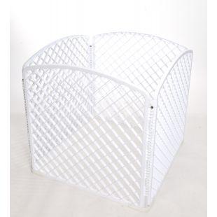 AOTONG Tvorelė plastikinė 75x75x75 cm, balta