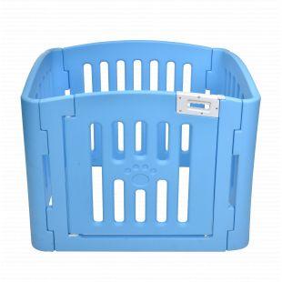 AOTONG Tvorelė plastikinė 95x79x73 cm, mėlyna
