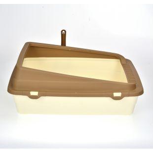 AOTONG Katės tualetas atviras, 48x38x18.5 cm