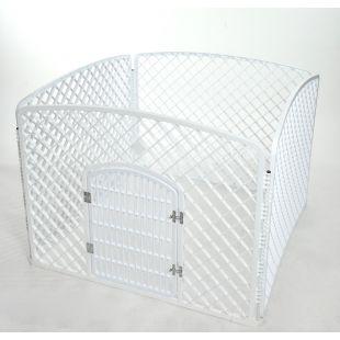AOTONG Tvorelė plastikinė 96x75x75 cm, balta