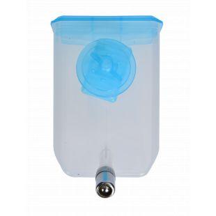 AOTONG Gyvūnų gertuvė narvui 500 ml, 15x10.5x5.5 cm, mėlyna