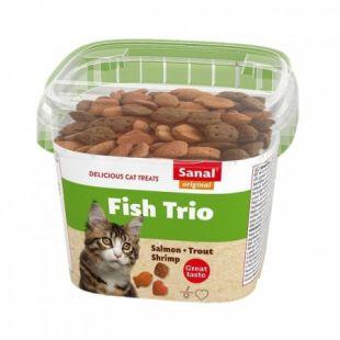 SANAL Fish Trio cup pašaro papildas, 75 g