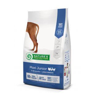 NATURE'S PROTECTION Maxi Large breeds Junior 2-18 months Poultry Sausas pašaras šunims 4 kg
