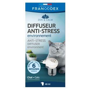 FRANCODEX Kačių difuzorius Anti-stress, į elekros lizdą 48ml