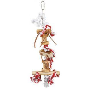 TRIXIE Paukščių pakabinamas žaislas, deginto medžio, 35 cm