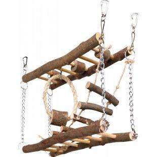 TRIXIE Graužikų žaislas, kabantis tiltas, 27x17x7 cm