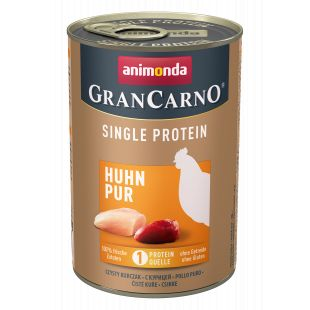 ANIMONDA GranCarno Single Protein šunų konservai su vištiena 400 g