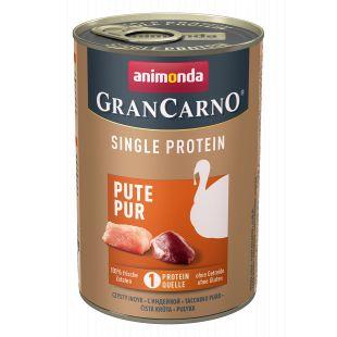 ANIMONDA GranCarno Single Protein šunų konservai su kalakutiena 400 g