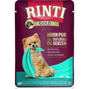 FINNERN MIAMOR Rinti gold šunų konservai su vištiena ir paukščių širdelėmis 100 g