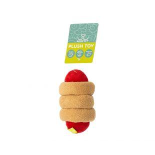 HIPPIE PET Šunų žaislas, Dešrainis, smėlinis, 15x6x4 cm