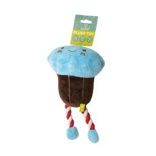 HIPPIE PET Šunų žaislas, Ledai, mėlyni, 23x14x9 cm