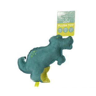 HIPPIE PET Šunų žaislas, Dinozauras, mėlynas, 20x15x3 cm