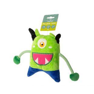 HIPPIE PET Šunų žaislas, Monstras, žalias, 19x13x4 cm