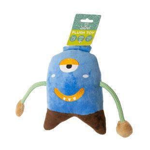 HIPPIE PET Šunų žaislas, Monstras, mėlynas, 19x13x4 cm