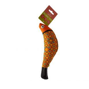 HIPPIE PET Kačių žaislas, Žuvis, oranžinė