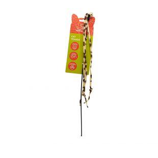 HIPPIE PET Kačių žaislas meškerė, 47 cm