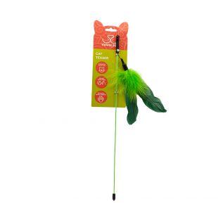HIPPIE PET Kačių žaislas žalia, 42 cm