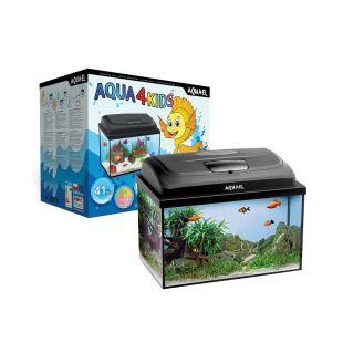 AQUAEL Akvariumo komplektas Aqua4 KIDS RECT. 20 l, 40x25x25cm