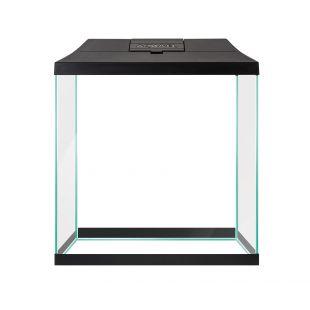 AQUAEL Akvariumo rinkinys pradedantiesiems LEDDY MINI juodas, 29x15x30 cm