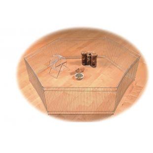 TRIXIE Graužikų tvorelė metalinė, 6 dalių, 48x25 cm