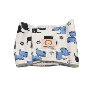 MISOKO&CO patinų daugkartinės sauskelnės L, šuniukai