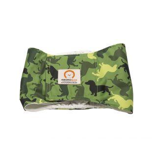 MISOKO&CO patinų daugkartinės sauskelnės XL, kamufliažas