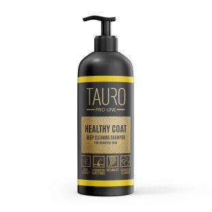 TAURO PRO LINE Healthy Coat Deep Cleaning Shampoo, šampūnas šunims ir katėms 1 l
