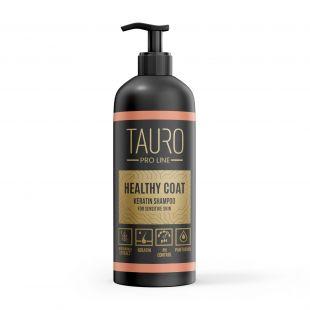 TAURO PRO LINE Healthy Coat Keratin Shampoo, šampūnas šunims ir katėms 1 l