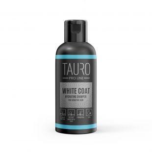 TAURO PRO LINE White Coat hydrating Shampoo, šampūnas šunims ir katėms 50 ml