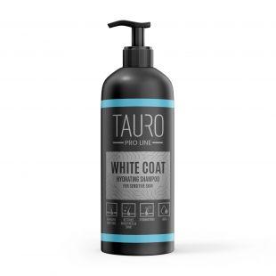 TAURO PRO LINE White Coat hydrating Shampoo, šampūnas šunims ir katėms 1 l