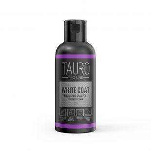 TAURO PRO LINE White Coat Nourishing Shampoo, šampūnas šunims ir katėms 50 ml