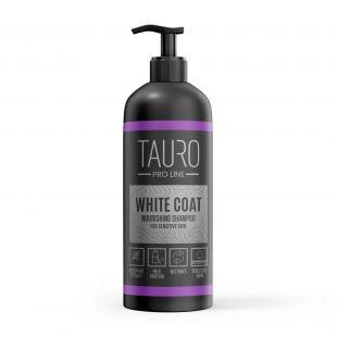 TAURO PRO LINE White Coat Nourishing Shampoo, šampūnas šunims ir katėms 1 l