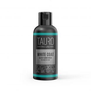 TAURO PRO LINE White Coat glossy conditioner, balzamas šunims ir katėms 50 ml
