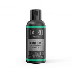 TAURO PRO LINE White Coat Whitening Shampoo, šampūnas šunims ir katėms 50 ml