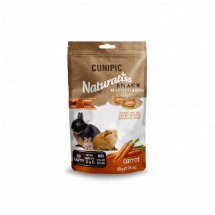 CUNIPIC Naturaliss snack multivitamin graužikų užkandis su žolelėmis, 50 g