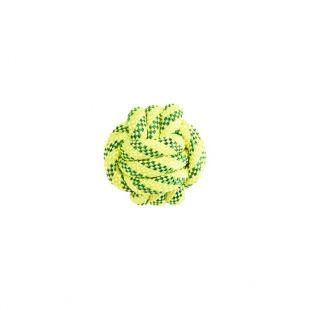 MISOKO&CO šunų plūduriuojantis žaislas-kamuoliukas geltonas, 7 cm