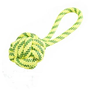 MISOKO&CO šunų plūduriuojantis žaislas-kamuoliukas geltonas, 21 cm