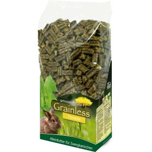 JR FARM Grainless Complete Dwarf Rabbits graužikų pašaras 1350 g