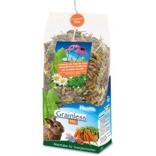 JR FARM Grainless Health Mix Dwarf Rabbit graužikų pašaras 1,2 kg