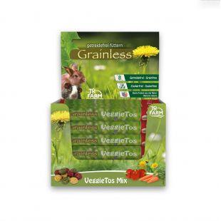 JR FARM Grainless VeggieTos Mix graužikų pašaro papildas 25 g