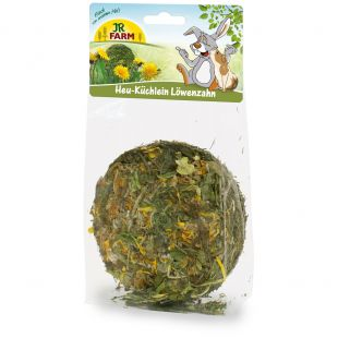 JR FARM Hay-Cake Dandelion graužikų skanėstas 75 g
